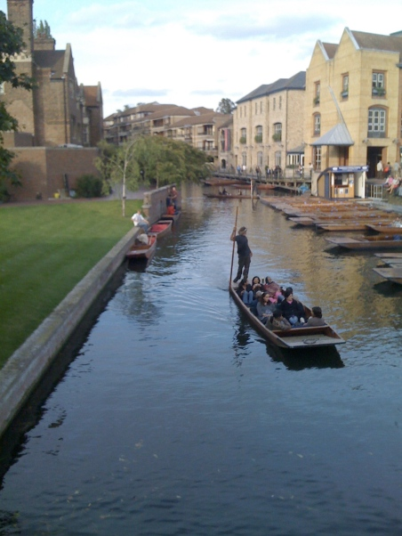 Venice? nope, Cambridge!