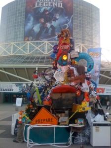 E3 junk Pile